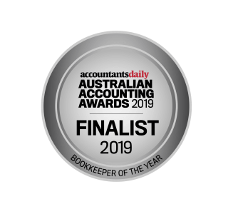 Finalist 2019 Australian Bookkeeper of the Year